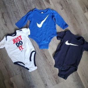 Nike 6/9 Months Onesie Lot